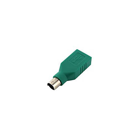 Seal Shield SSPS2A25 - Keyboard / mouse adapter - USB (F) to PS/2 (M) - green (pack of 25)