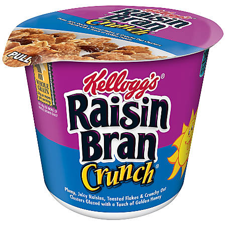 Kellogg's® Raisin Bran® Cereal-In-A-Cup, 2.8 Oz, 6 Cups