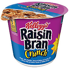 Kelloggs Raisin Bran Cereal In A