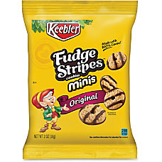 Keebler Fudge Stripes Cookies 2 Oz