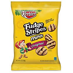 Keebler Fudge Stripes Cookies 2 Oz