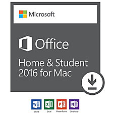 Office Home Student 2016 for Mac