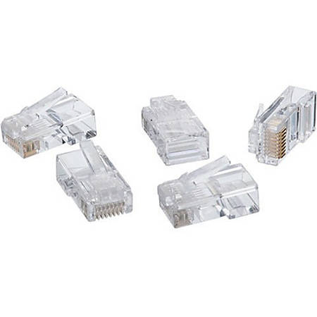 IDEAL 85-396 Network Connector - 50 Pack - RJ-45 Male