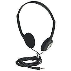 Manhattan Lightweight Stereo Headphones with Cushioned