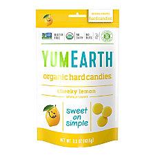 Yummy Earth Organic Cheeky Lemon Hard
