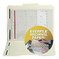 SJ Paper Archival 2 Fastener Top