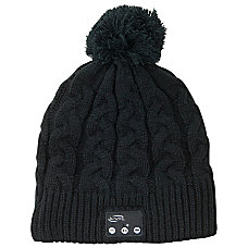 iLive Bluetooth Knit Beanie Cap Black