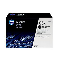 HP 05X Black Toner Cartridges CE505XD