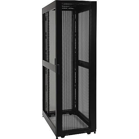 Tripp Lite 48U Rack Enclosure Server Cabinet Doors No Sides 3000lb Capacity