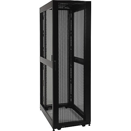 Tripp Lite 48U Rack Enclosure Server Cabinet Doors No Sides 3000lb Capacity  - 48U Rack Height x 19