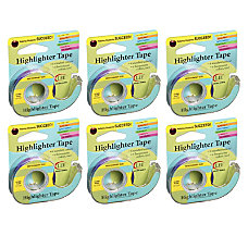 Lee Products Removable Highlighter Tape Purple