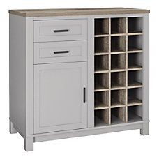 Ameriwood Home Carver Storage CabinetBuffet 18