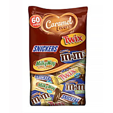 Mars Caramel Lovers 60 Piece Fun