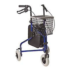 DMI Adjustable Aluminum Folding 3 Wheel