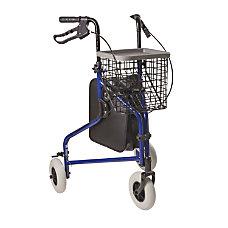 DMI Adjustable Aluminum Folding 3 Wheel