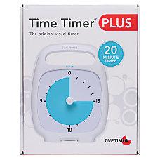 Time Timer 20 Minute Timer White