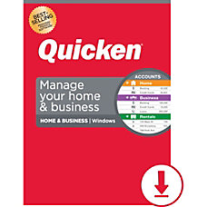Quicken Home Business 2020