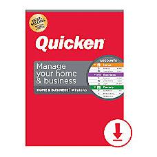 Quicken Home Business 2020