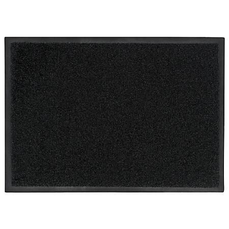 "M + A Matting Brush Hog Floor Mat, 36"" x 192"", Charcoal Brush"