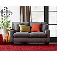 Serta Deep Seating Palisades Loveseat GrayEspresso