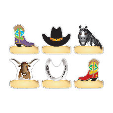 Barker Creek Accents Western Pack Of