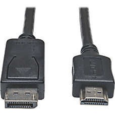 Tripp Lite 15ft DisplayPort to HDMI