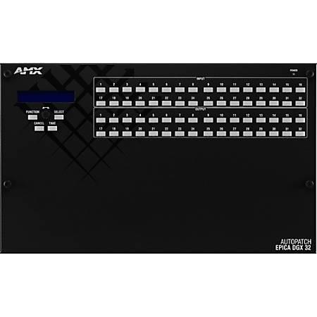 AMX Epica AVS-EPDGX32-1632-DD0 DVI Splitter