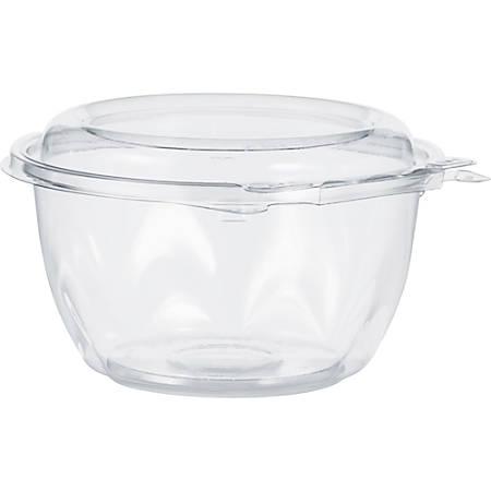 Dart SafeSeal Bowls - 16 fl oz Bowl - Polyethylene Terephthalate (PET) - Clear - 240 Piece(s) / Carton
