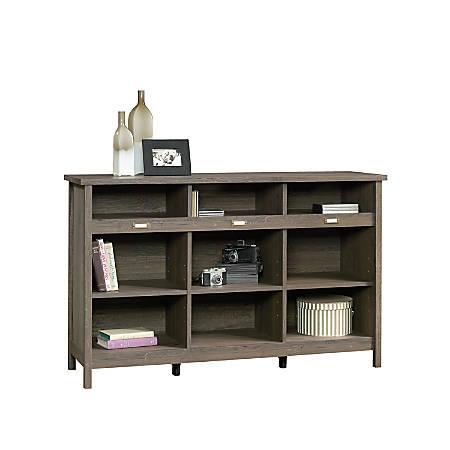 Sauder® Adept Storage Credenza, 9 Shelves, Fossil Oak