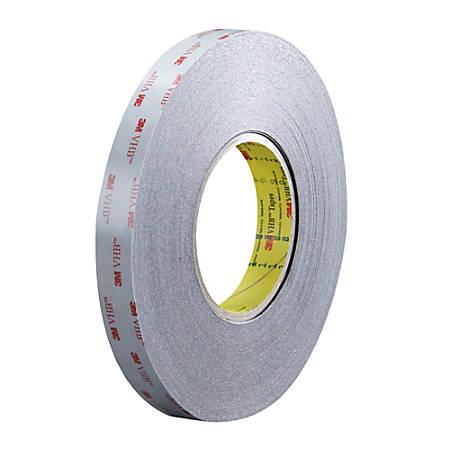 """3M™ VHB™ 5915 Tape, 1.5"""" Core, 0.75"""" x 5 Yd., Black"""