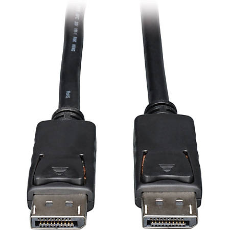 Tripp Lite 1ft DisplayPort Cable with Latches Video / Audio DP 4K x 2K M/M