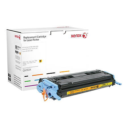Xerox - Yellow - toner cartridge (alternative for: HP Q6003A) - for HP Color LaserJet 1600, 2600n, 2605, 2605dn, 2605dtn, CM1015 MFP, CM1017 MFP