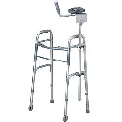 Guardian Walker Platform Attachment Set Gray