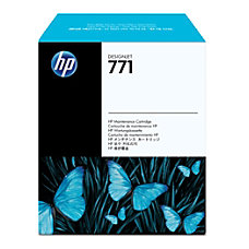HP 771 Maintenance Cartridge Inkjet Black