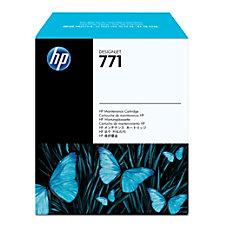 HP 771 Maintenance Cartridge Inkjet Black