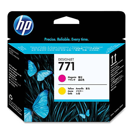 HP 771, High-Yield Magenta/Yellow Printhead (CE018A)