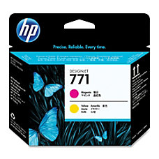 HP 771 High Yield MagentaYellow Printhead