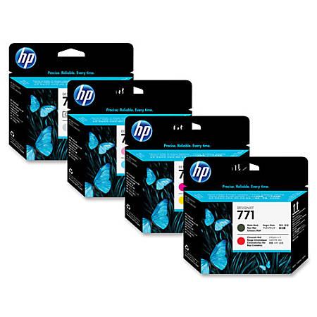HP 771 Original Printhead - Single Pack - Inkjet - Photo Black - 1 Each