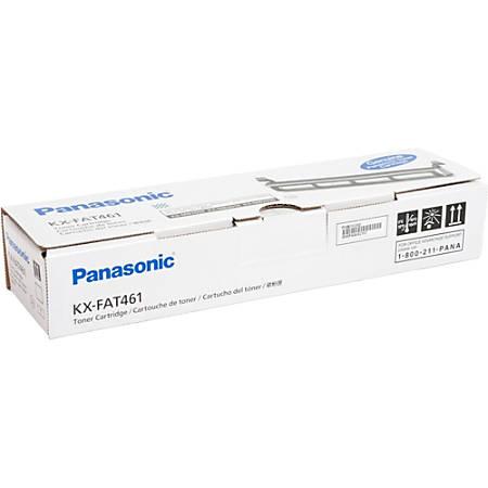Panasonic KX-FAT461 Original Toner Cartridge - Laser - 2000 Pages - Black - 1 Each