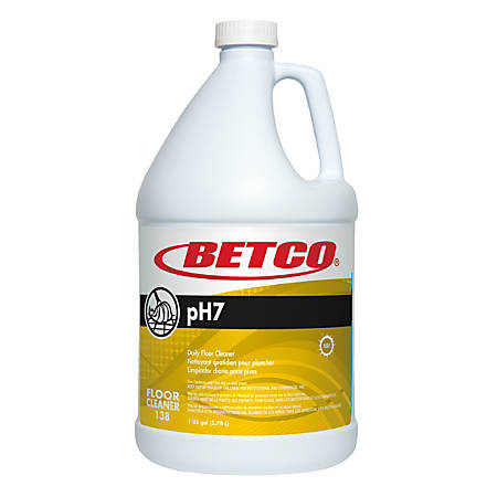 Betco® PH7 Floor Cleaner Concentrate, 1-Gallon, Pack Of 4