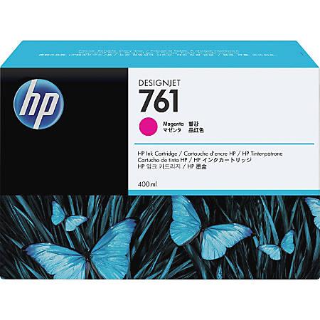 HP 761 Original Ink Cartridge - Single Pack - Inkjet - Magenta - 1 Each
