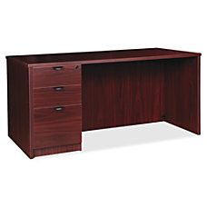 Lorell Prominence 20 Left Pedestal Desk