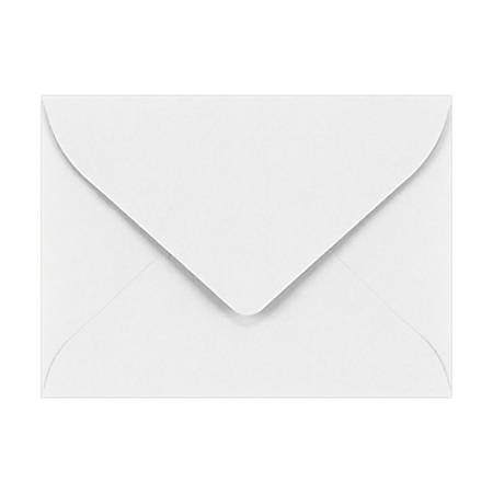 """LUX Mini Envelopes With Moisture Closure, #17, 2 11/16"""" x 3 11/16"""", Bright White, Pack Of 250"""