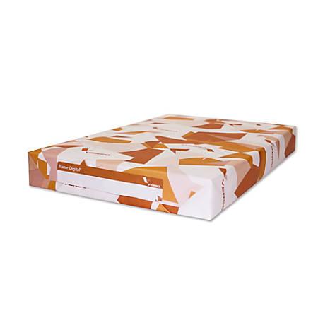 "Blazer Satin Digital Printing Paper, Cover, Tabloid Extra Size (18"" x 12""), 92 (U.S.) Brightness, 100 Lb, 250 Sheets Per Ream, Case Of 3 Reams"