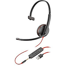 Plantronics Blackwire C3215 Headset Mono USB
