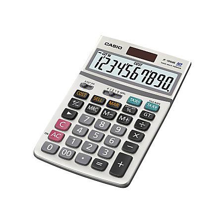 Casio® JF100BM Solar/Battery-Powered Calculator