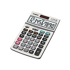 Casio JF100BM SolarBattery Powered Calculator