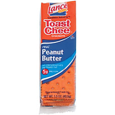 Lance Toast Chee Peanut Butter Cracker
