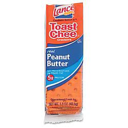 Lance Toast Chee Peanut Butter Cracker