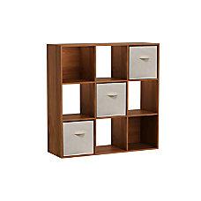 Homestar North America 9 Cube Bookcase